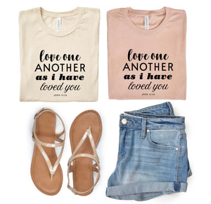 Love one another tee and tank