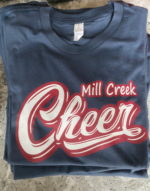 Mill Creek cheer tee