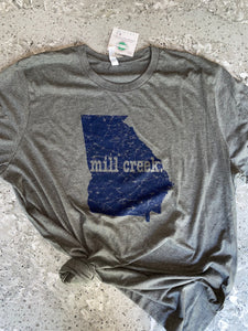 Mill creek (georgia) tee