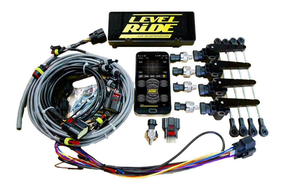 Level Ride Air Suspension - Height & Pressure
