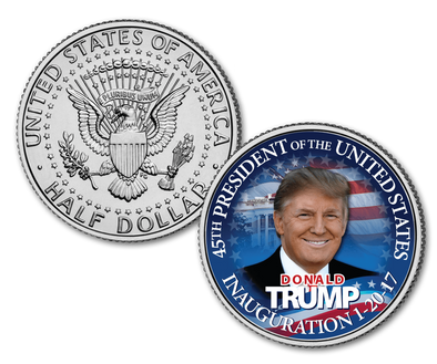 Trump 45th Official U.S. half dollar