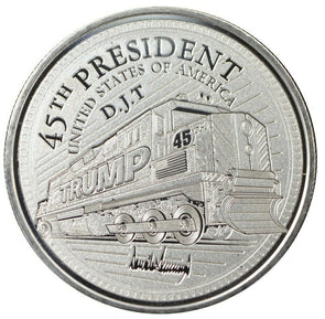 Trump Train 1oz Silver Promises Kept Coin