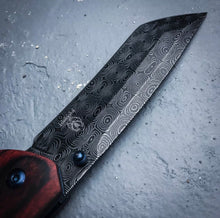 Katana Inspired Damascus Knife