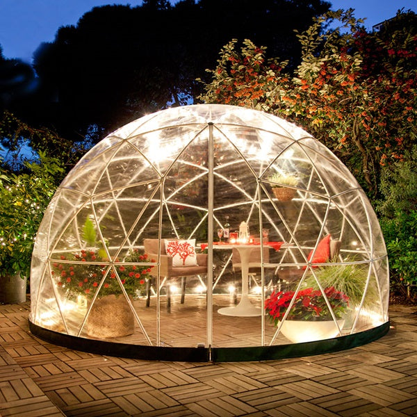 THE GARDEN IGLOO 360 DOME with Wintergarden Cover , 20% OFF