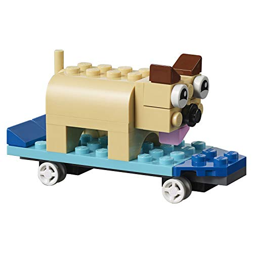 LEGO - Classic Bricks Construction Set - dog and skateboard