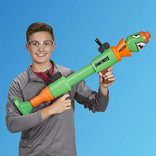 Nerf - Fortnite RL Blaster - Child holding blaster