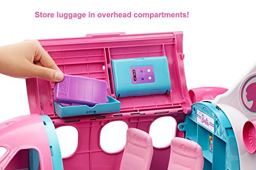 Barbie - Dreamplane Doll and Playset - Storage and accessories