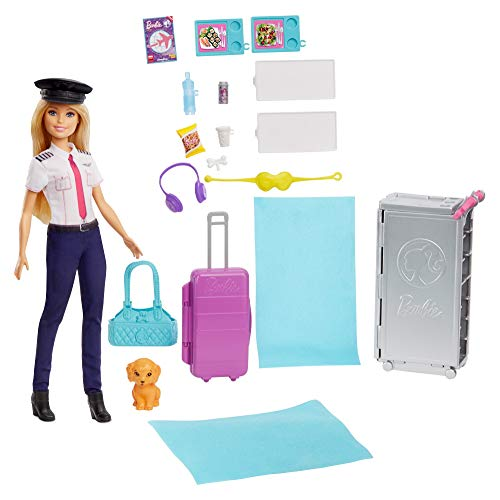 Barbie - Dreamplane Doll and Playset - Accessories included