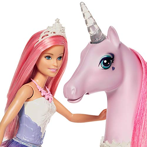 Barbie FXT26 - Dreamtopia Magical Unicorn -  Princess Barbie
