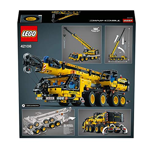 LEGO - TECNIC CRANE - packaging and movements