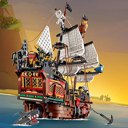LEGO 31109 - 3 IN 1 PIRATE SHIP - ANIMATION SET UP