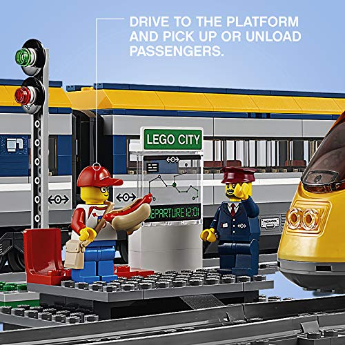 LEGO - CITY PASSENGER TRAIN SET - PLATFORM AND MINIFIGURES