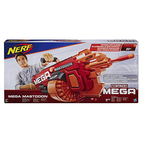 Nerf - Mega Mastodon - packaging