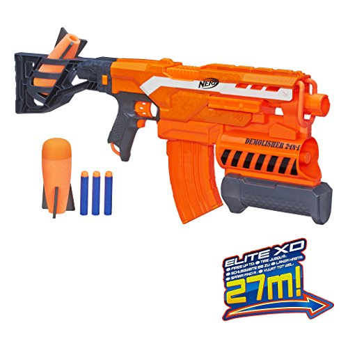 Nerf - N-Strike Elite Demolisher 2-in-1 Blaster - Accessories