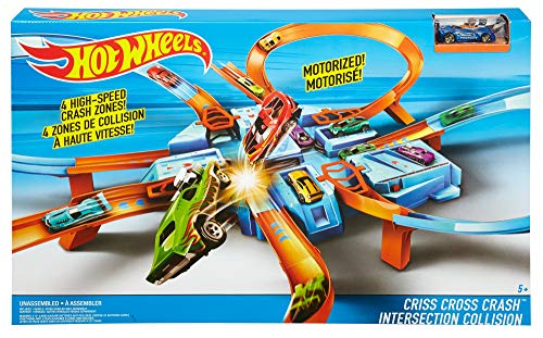 Hot Wheels DTN42 - Criss Cross Crash - Packaging