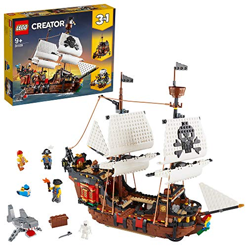 LEGO 31109 - 3 IN 1 PIRATE SHIP - PACKAGING AND SET UP