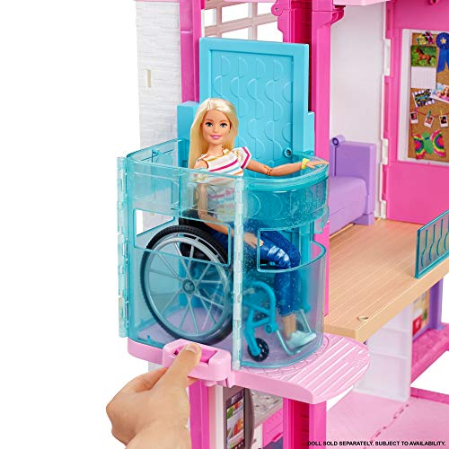 Barbie - Dreamhouse Playset 2020 - Lift with wheelchair
