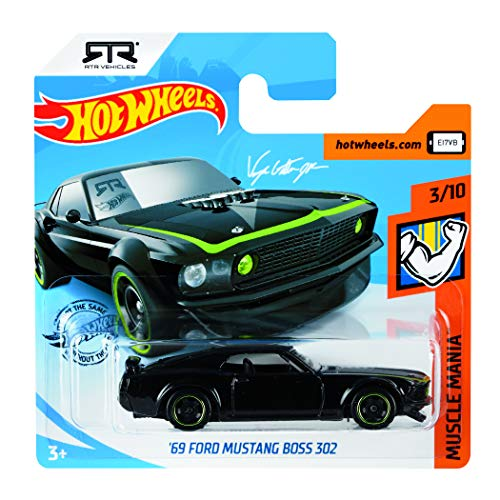 Hot Wheels V6697 - 50 Diecast Car Pack - Ford Mustang
