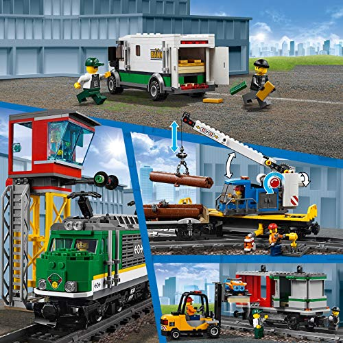 LEGO 60198 - CITY CARGO TRAIN - MOVEMENTS AND SET UP