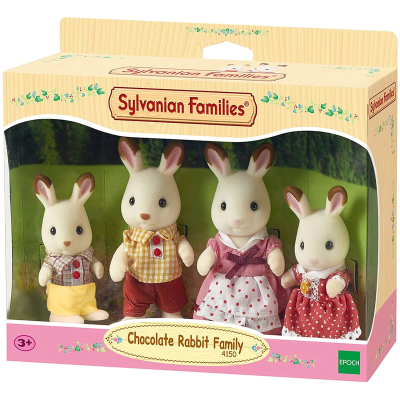 Sylvanian Families Chocolate Rabbit Family Packaging
