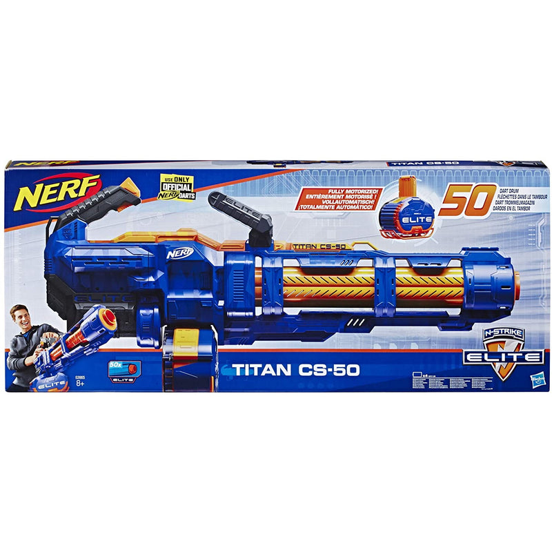 Nerf Elite Titan CS-50 packaging