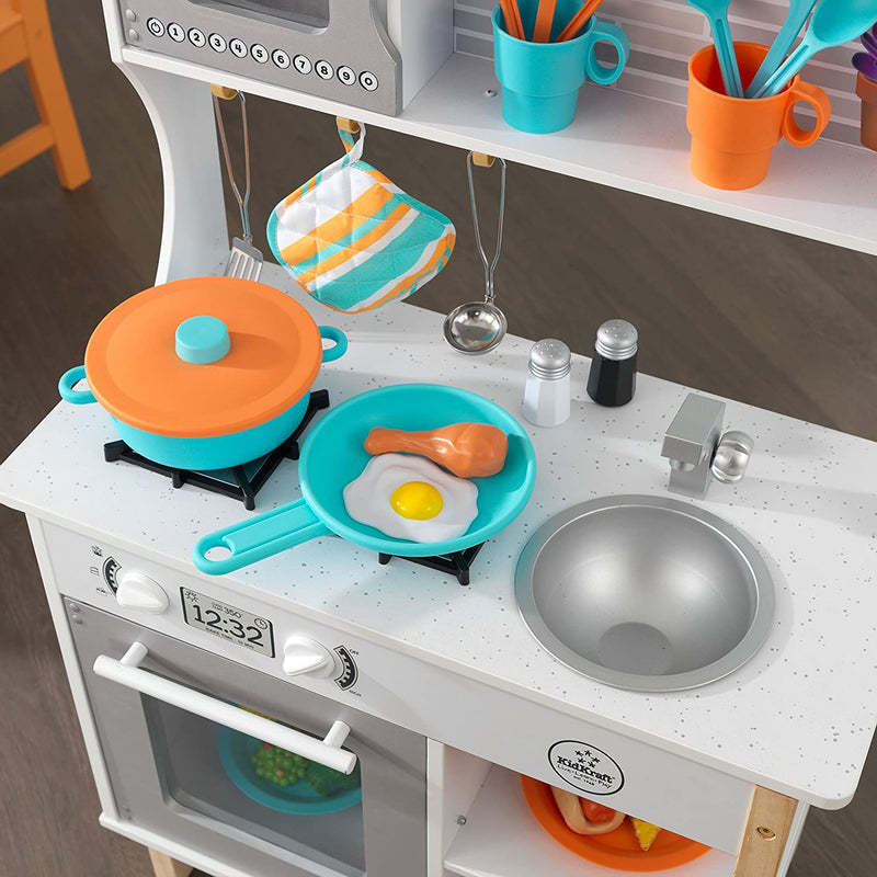 KidKraft All Time Play Kitchen hob and sink with accessories