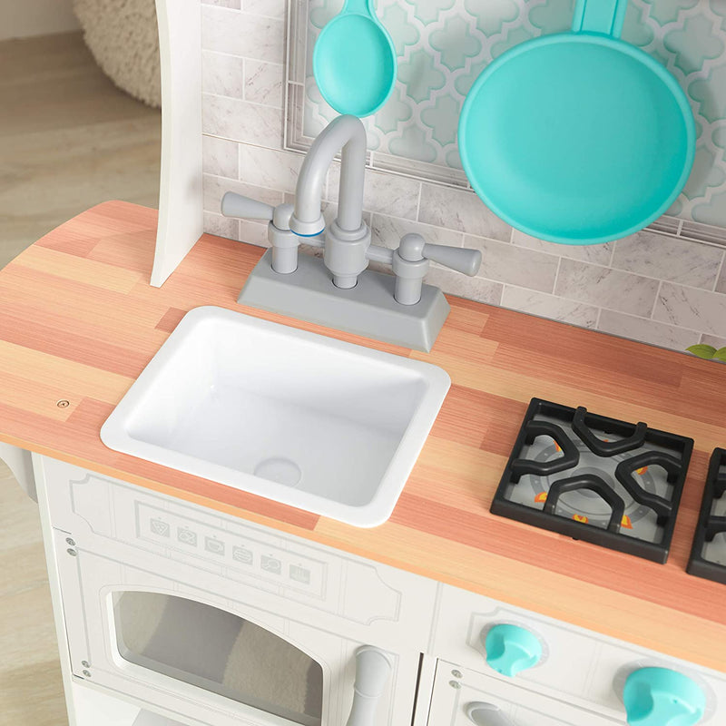 KidKraft Countryside Play Kitchen sink and oven hob