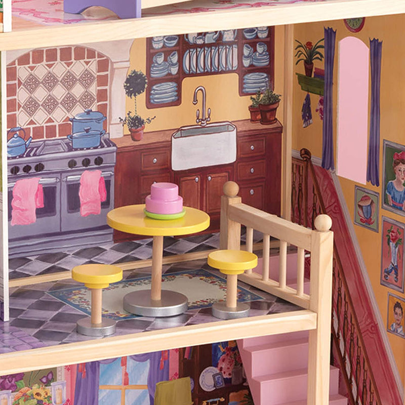 KidKraft Kayla Wooden Dolls House kitchen accessories
