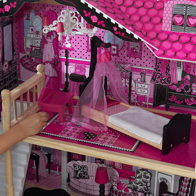 KidKraft Amelia Wooden Dolls House Upstairs bedroom