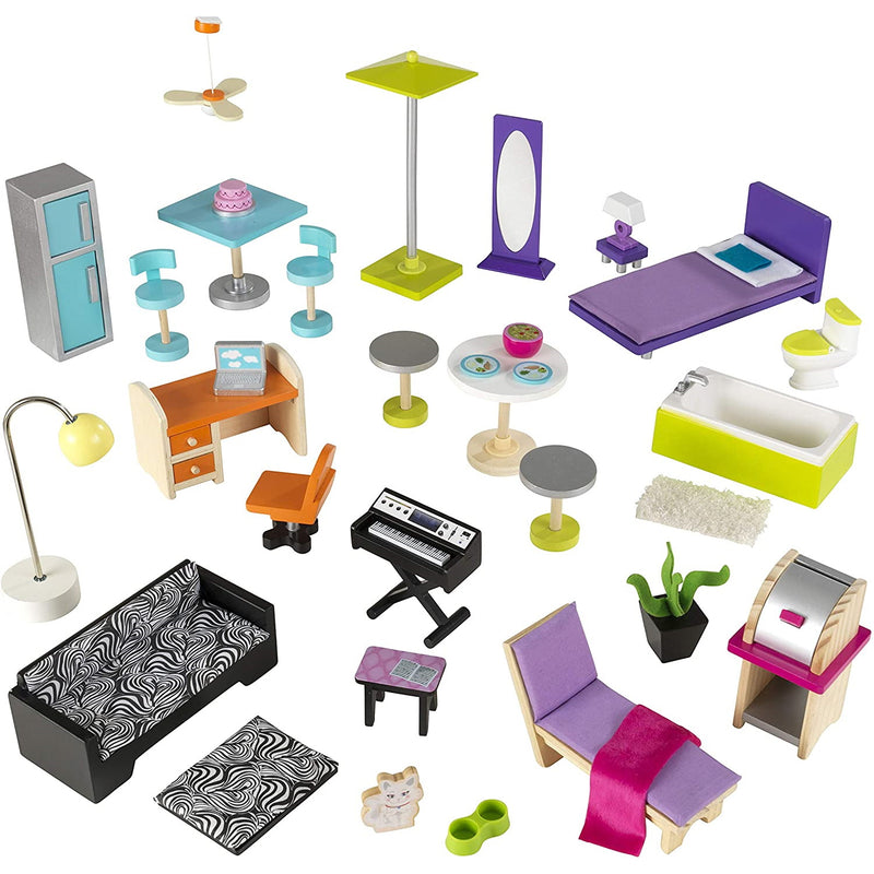 KidKraft Uptown Wooden Mansion Accessories