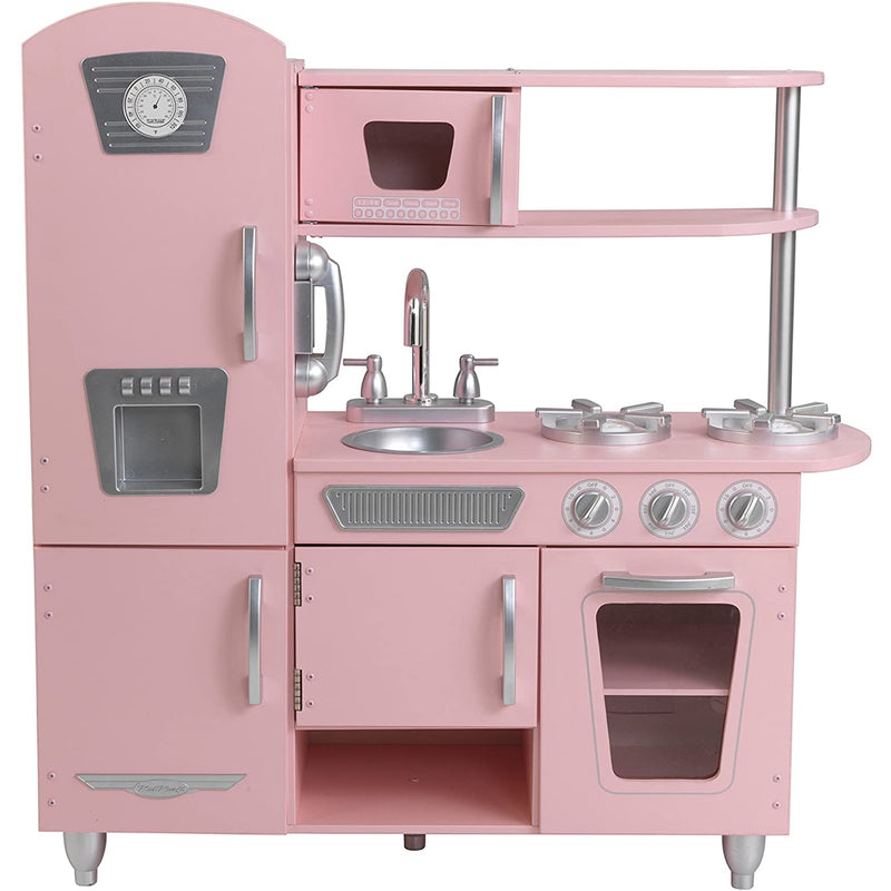 KidKraft Pink Vintage Kitchen full layout
