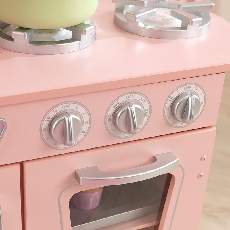 KidKraft Pink Vintage Kitchen cooker