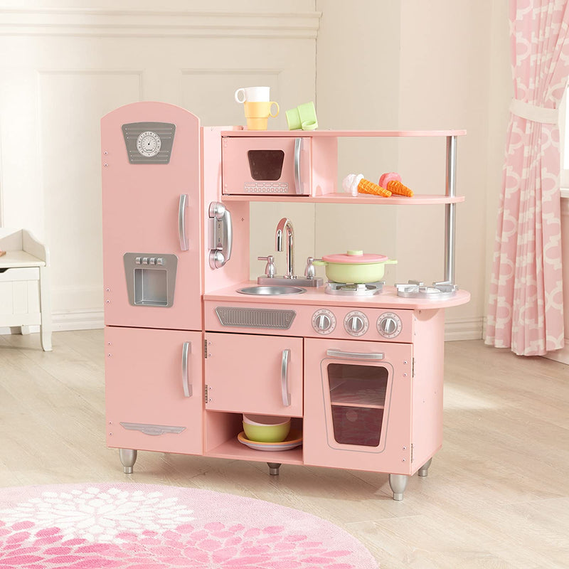 KidKraft Pink Vintage Kitchen with Accessories