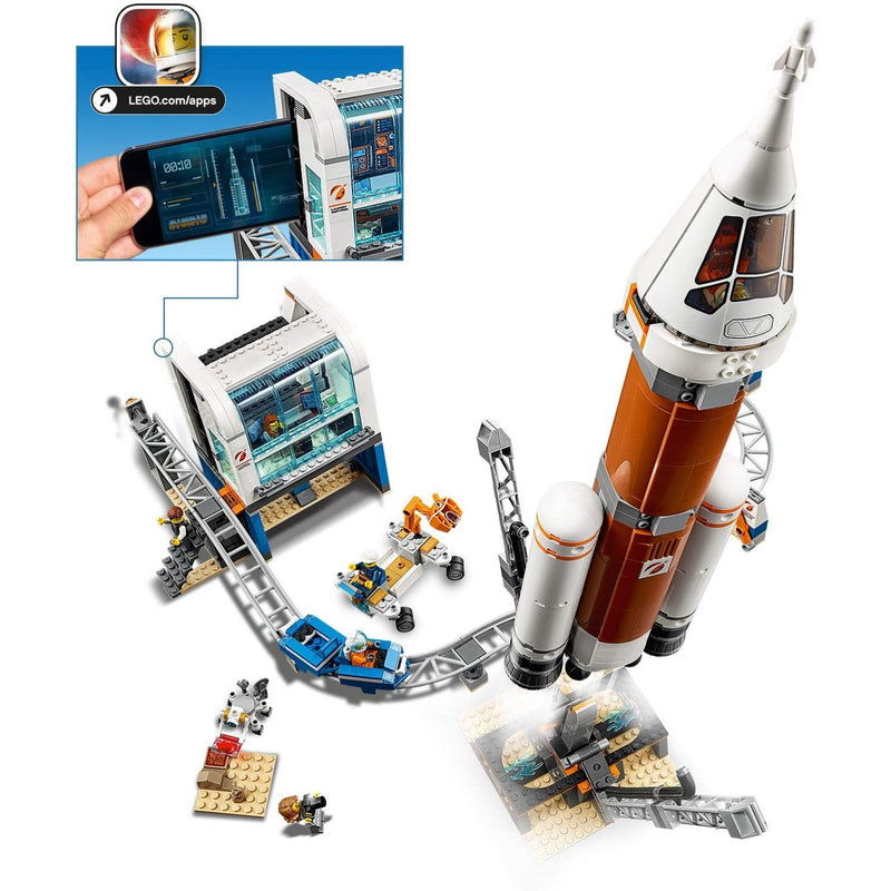 LEGO 60228 Rocket set phone for screen