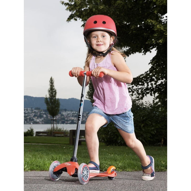 Micro Mini Scooter Red Child riding