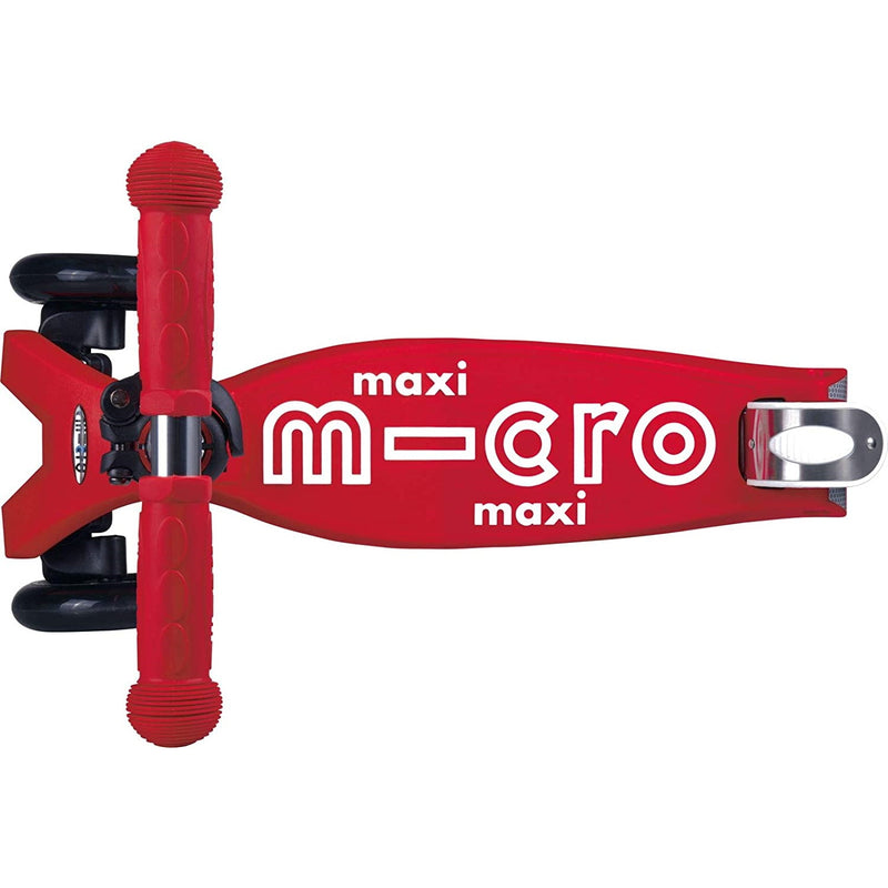 Micro Maxi Deluxe Red footplate and brake