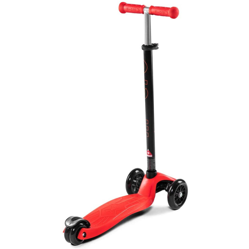 Micro Maxi Red Scooter adjustable handlebars