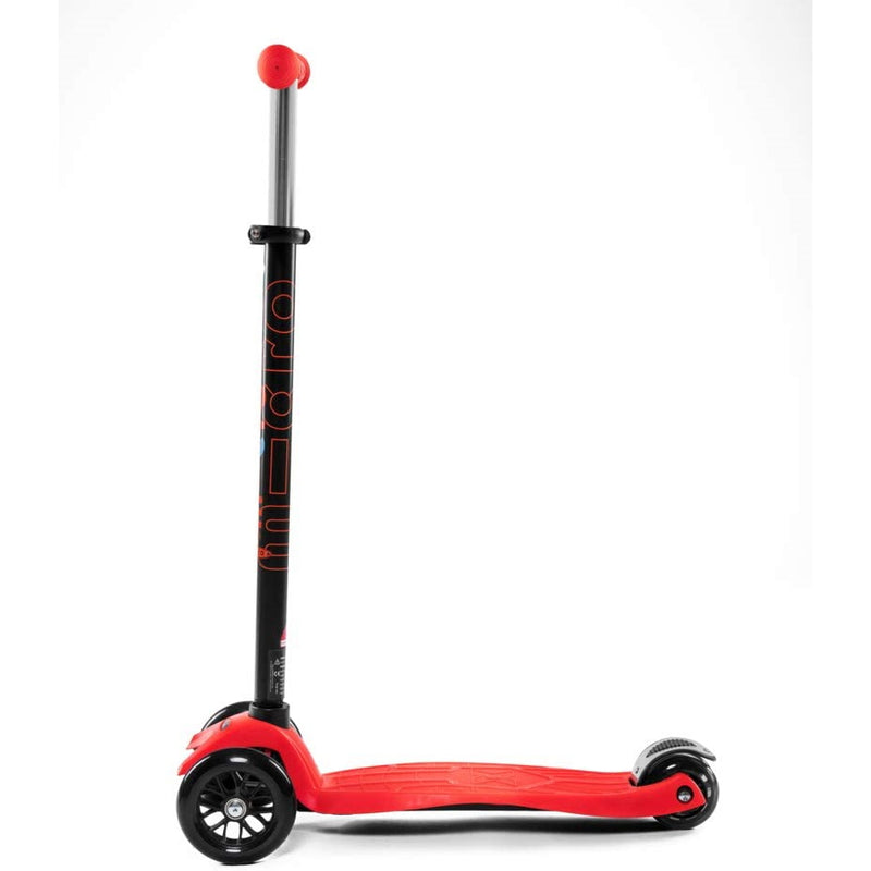 Micro Maxi Red Scooter Frame and Wheels