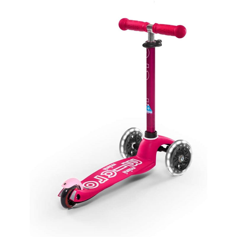 Micro Scooter Mini Deluxe LED Pink