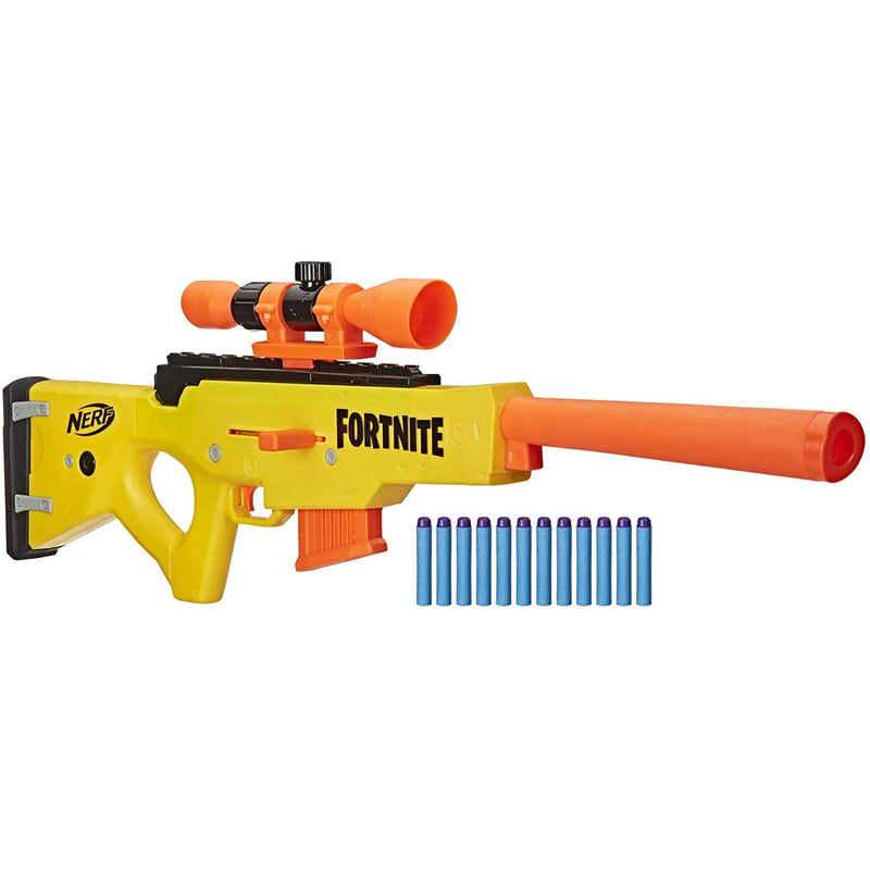 Nerf Fortnite BASR-L with darts