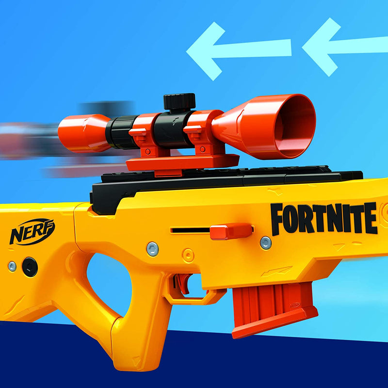 Nerf Fortnite BASR-L reload and scope