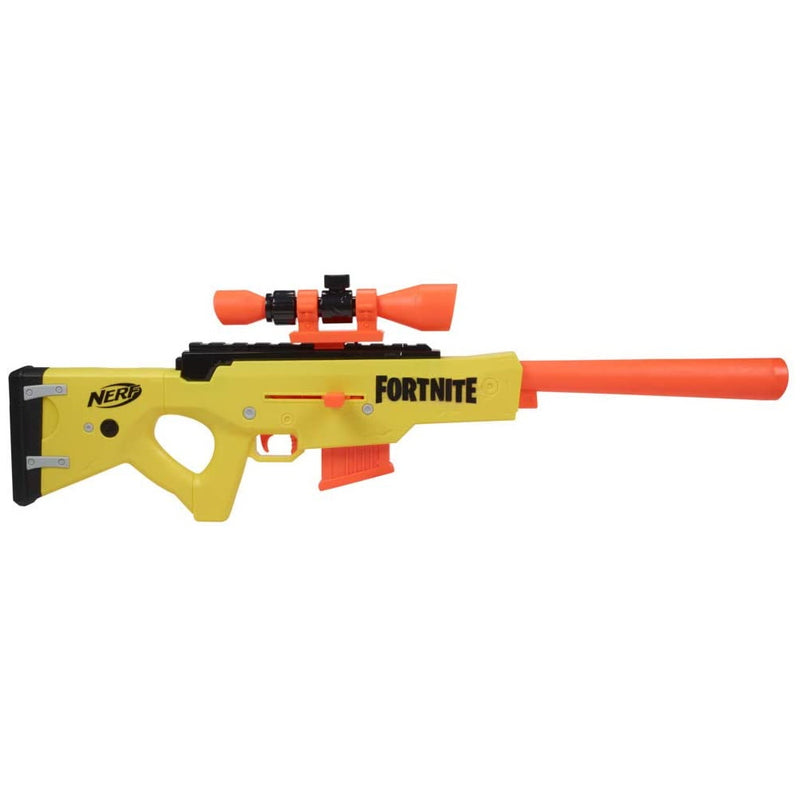 Nerf Fortnite BASR-L blaster side view