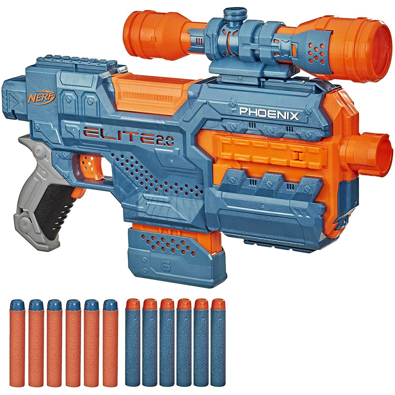 Nerf Elite 2.0 Phoenix with darts