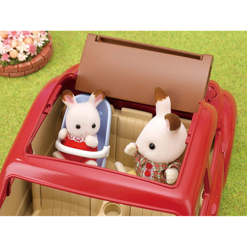 Sylvanian Families 5448 Family Cruising Car assembled