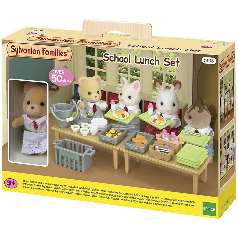 Sylvanian Families  School Lunch Set packaging
