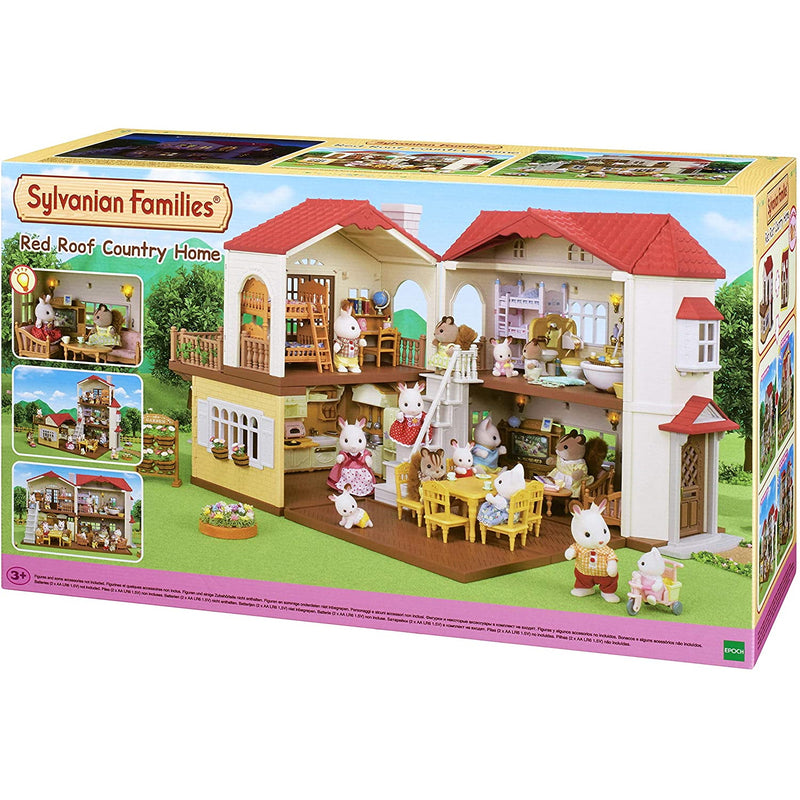 Sylvanian Families 5480 Red Roof Country Home packaging