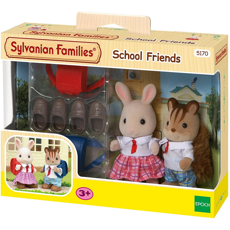 Sylvanian Families  School Friends packaging