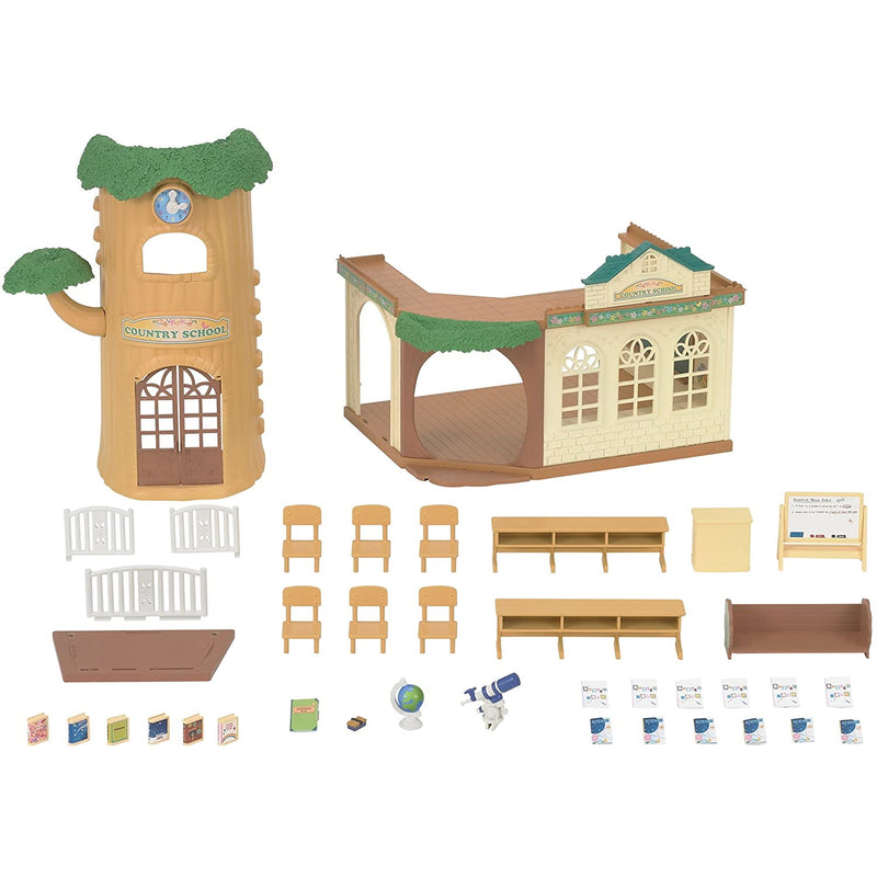 Sylvanian Families  Country Tree School pieces and accessories