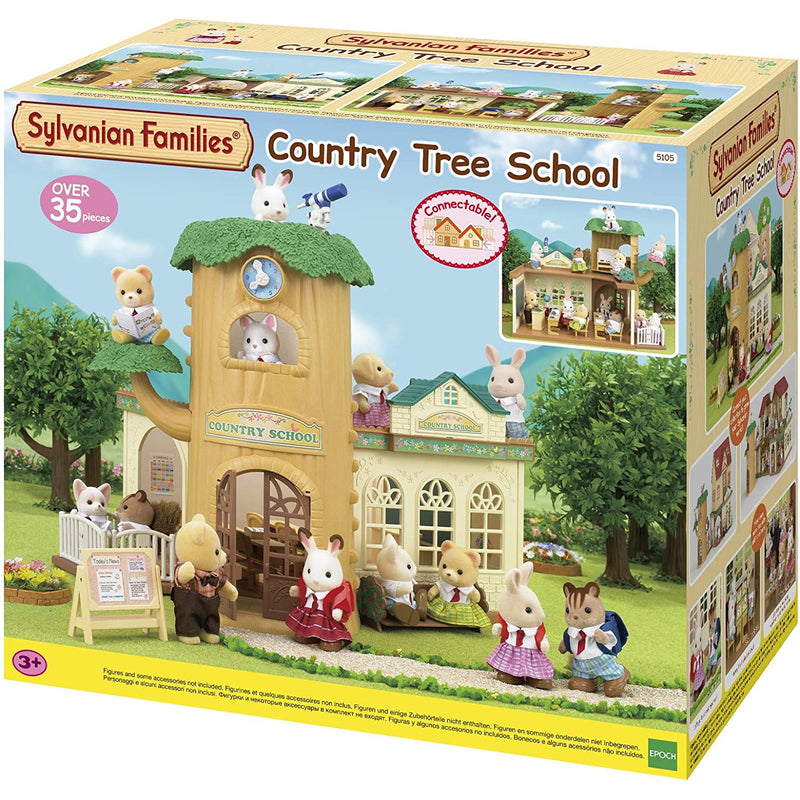 Sylvanian Families  Country Tree School packaging