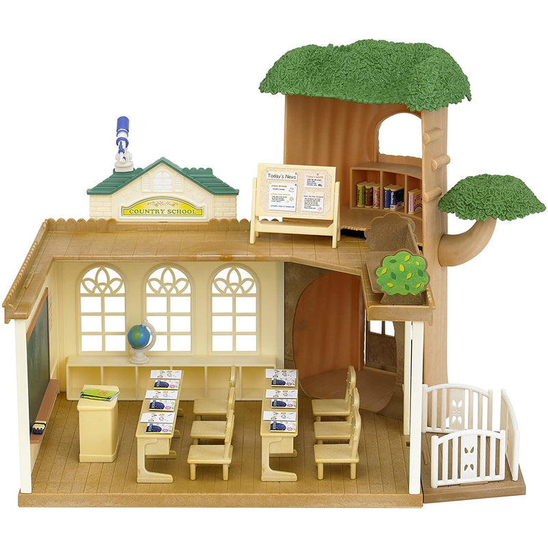 Sylvanian Families  Country Tree School assembled